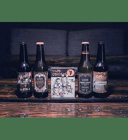 Pack Los Odiosos 7</br>Cervezas y juego