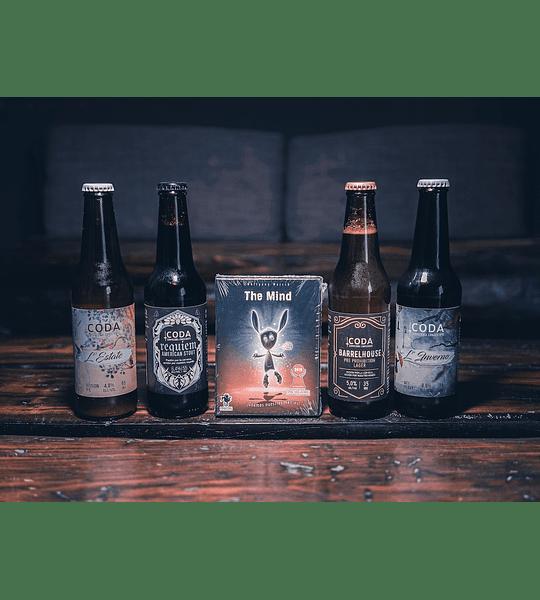 Pack The Mind</br>Cervezas y juego