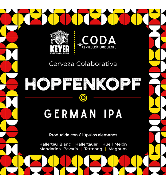 Hopfenkopf</br>German IPA colaborativa