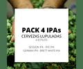 Pack Cuatro IPAs</br>Celebración al lúpulo