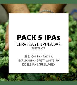 Pack Cinco IPAs</br>Celebración al lúpulo