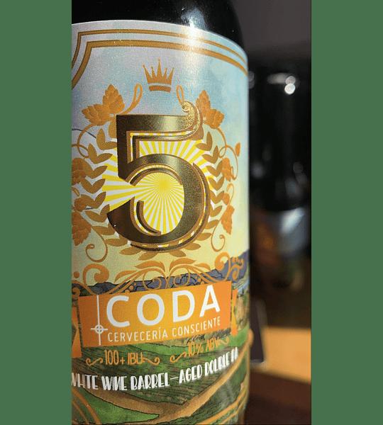 V Aniversario 350 cc.<br/>White Wine Barrel-Aged Double IPA