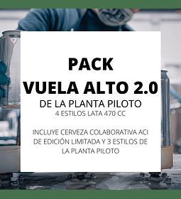 Pack Vuela Alto 470 cc.<br/>De la planta piloto (v2.0)