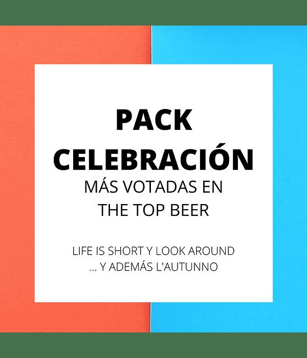 Pack Celebración</br>Más votadas en The Top