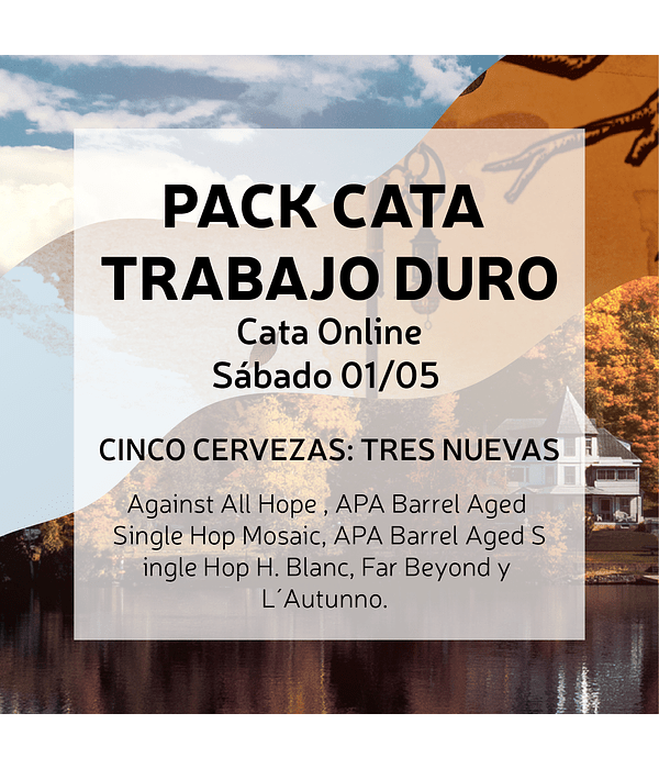 Pack Cata Online<br/>Trabajo Duro (01 mayo)
