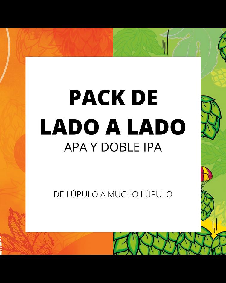 Pack De Lado a Lado</br>APA y Doble IPA