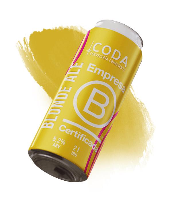Empresa B Certificada<br/>Blonde Ale