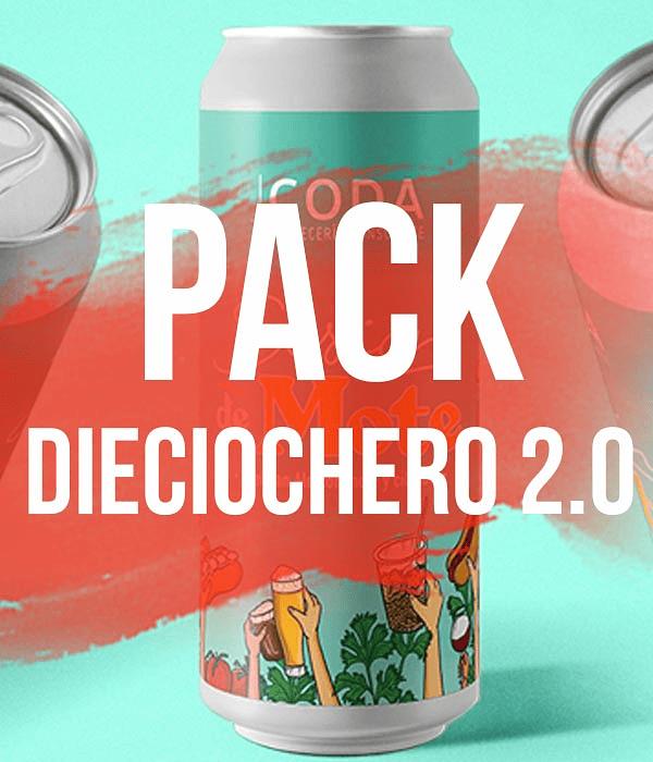 Pack Dieciochero 2.0</br>Con Sesión de Mote