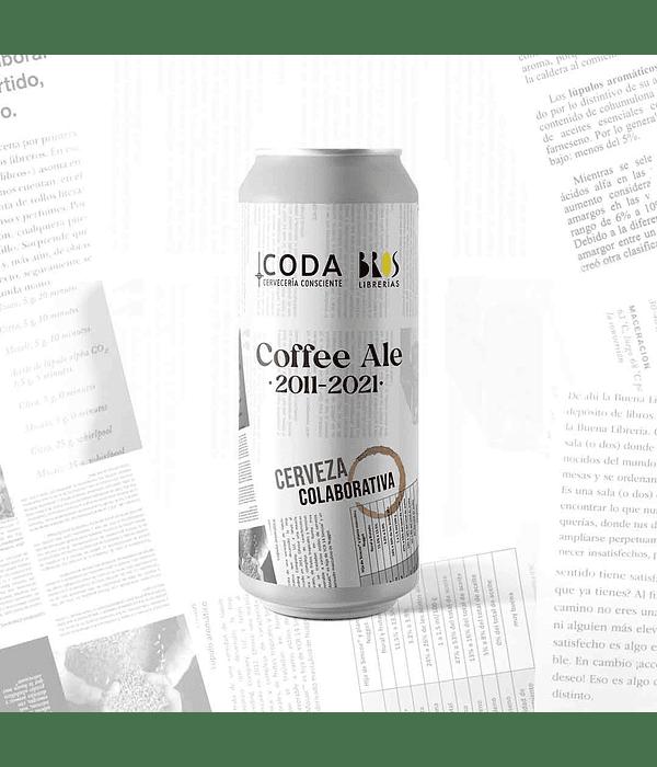 Coffee Ale<br/>Colaborativa con BROS Librerías