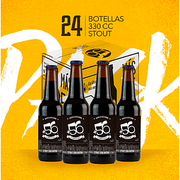 Stout con Avena • 24 Botellas 330cc