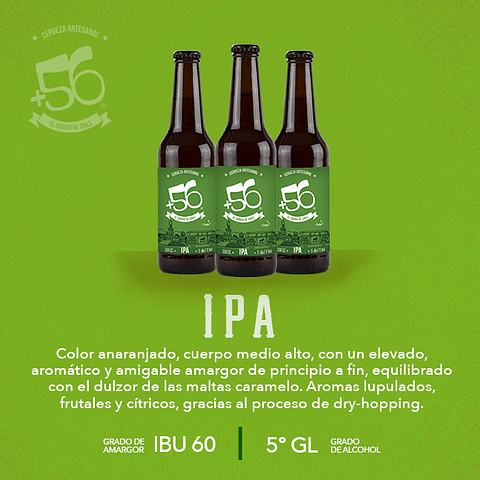 IPA • 24 Botellas 330cc