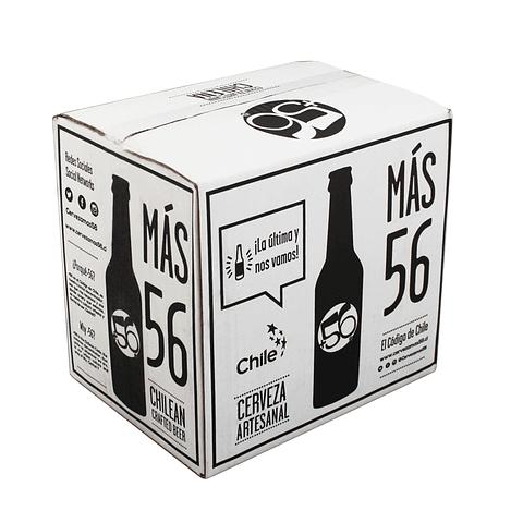 Caja +56 MIXTA 12 botellas 330cc