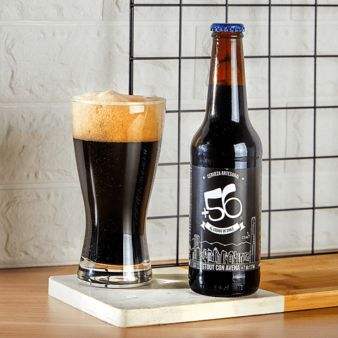 Stout con Avena • 12 Botellas 330cc