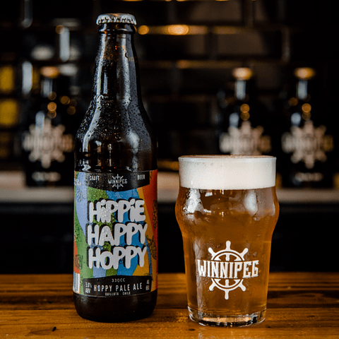 Pack de 10 - Hippie Happy Hoppy 330cc
