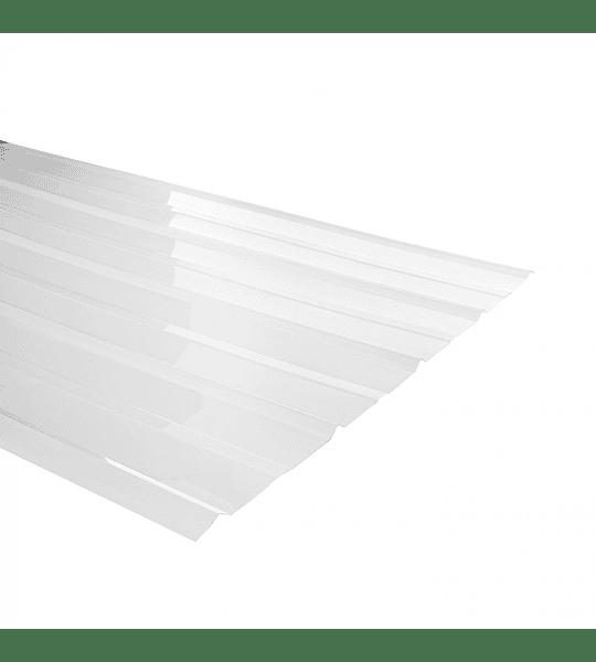 Policarbonato 5V - 7 mm. Color: Transparente