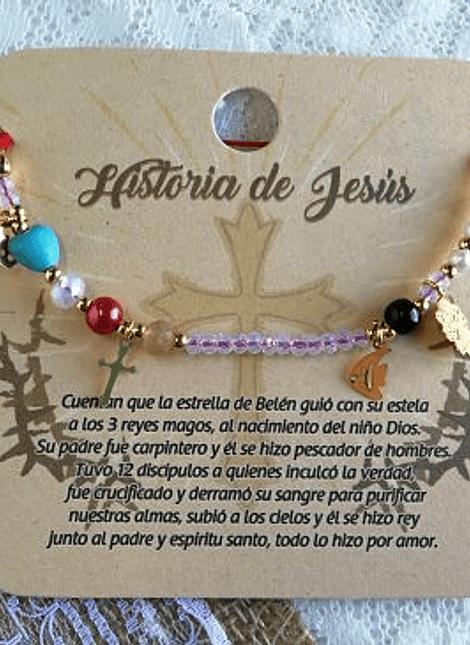 PULSERA HISTORIA DE JESÚS