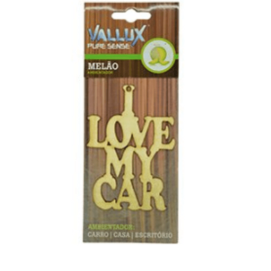Ambientador Wood - Carro | Casa | Escritório MELÃO