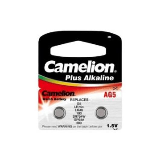 Pilha Camelion AG5 plus alk. (UNIDADE)