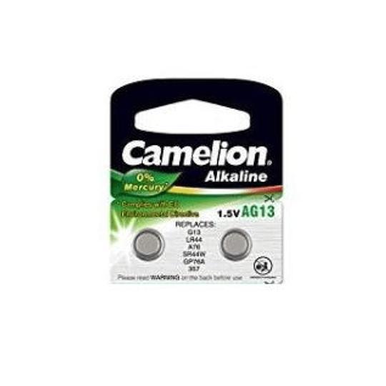 Pilha Camelion AG13 Green (UNIDADE)