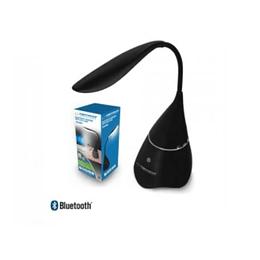 Candeeiro com Coluna Bluetooth 3W AUX Preto