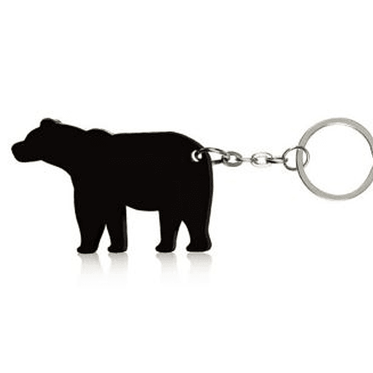 Porta-chaves -Forma de Urso