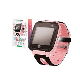 Smartwatch Gprs Lbs Sim Criança Rosa FOREVER