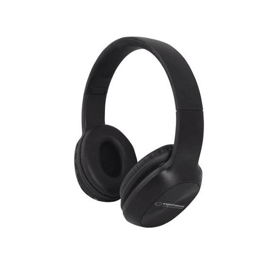 Auscultadores Bluetooth sem Fios Stereo pretos
