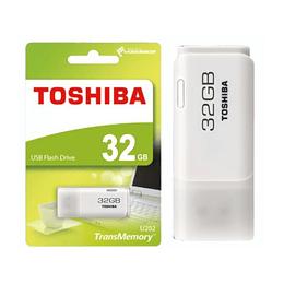 Pen USB 32GB Branco Hayabusa Toshiba