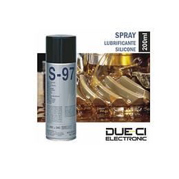 Spray de 200ml lubrificante silicone