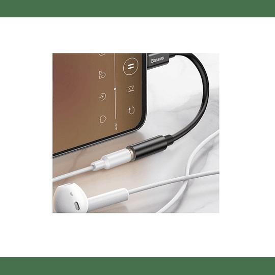 ADAPTADOR USB-C MACHO P/ JACK 3.5MM FÊMEA