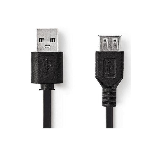 CABO USB-A 2.0 MACHO / USB-A FÊMEA