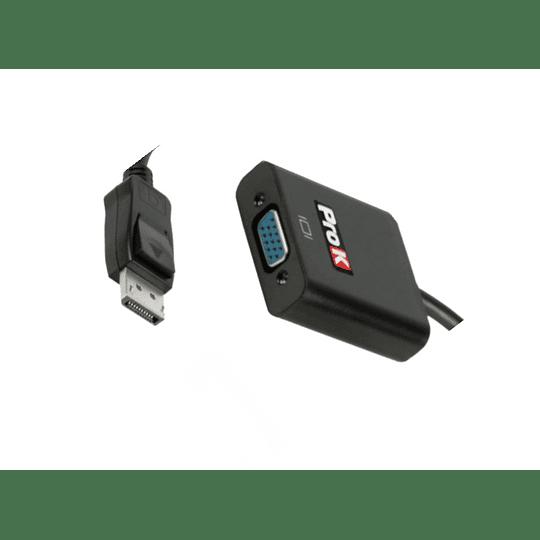 CABO DISPLAYPORT MACHO / HDMI FÊMEA