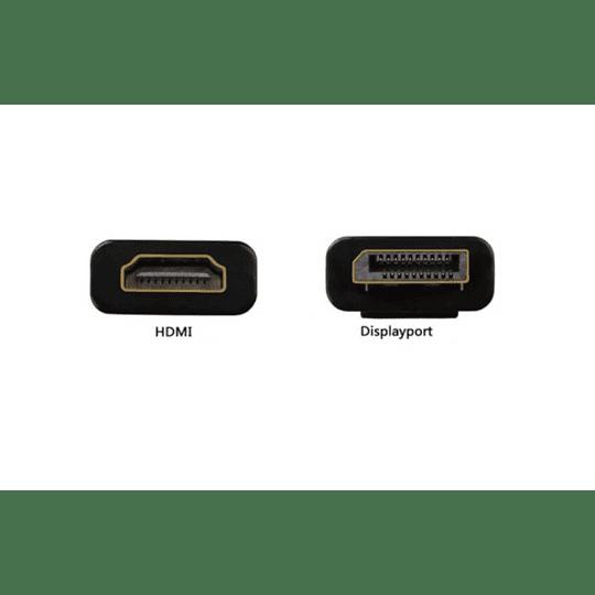 ADAPTADOR DISPLAYPORT MACHO / HDMI FÊMEA
