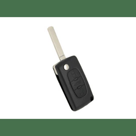 Capa Silicone para comando Peugeot/Citroen