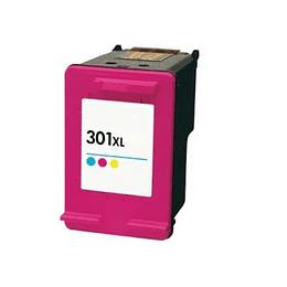 Tinteiro Reciclado HP nº 301 XL Tricolor (CH564EE)