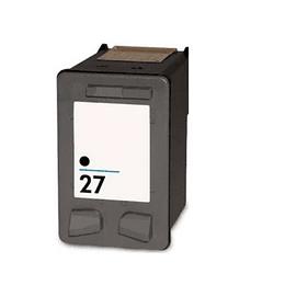 Tinteiro Reciclado HP nº 27 Preto (C8727AE)