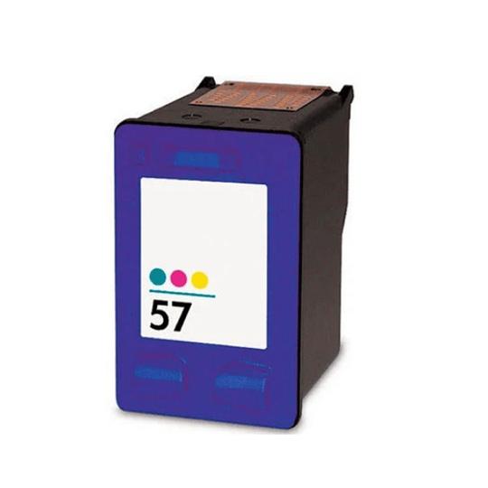 Tinteiro Reciclado  HP nº 57 Tricolor (C6657AE)