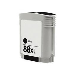 Tinteiro Compativel HP 88 XL Preto (C9396AE)