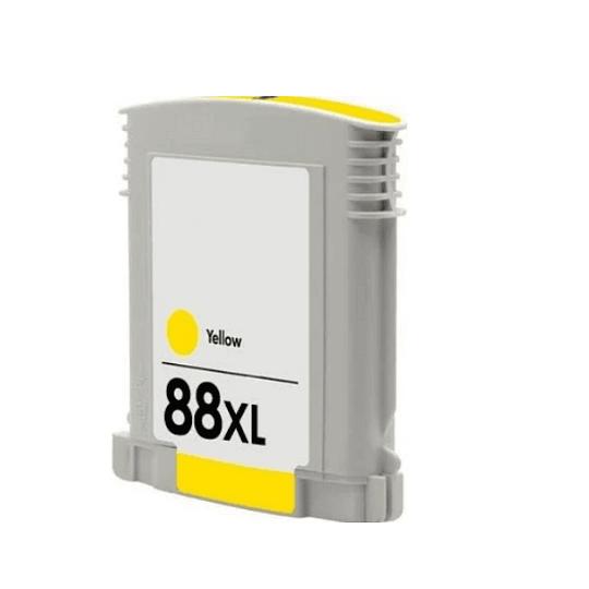 Tinteiro Compativel HP 88 Amarelo (C9393AE)