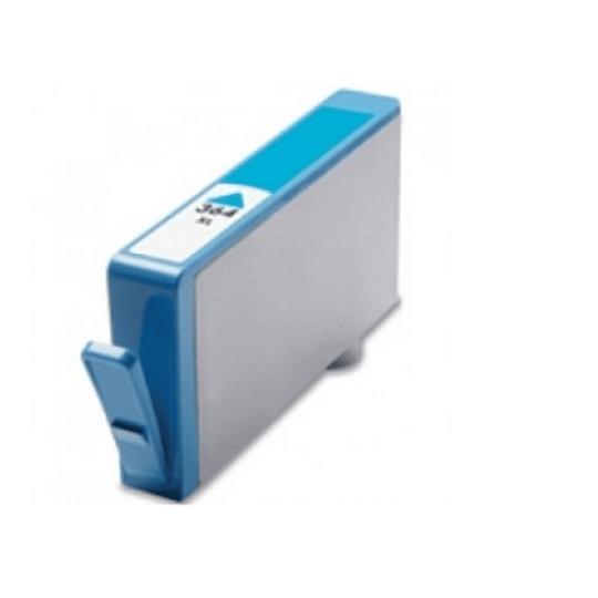 Tinteiro Compatível HP nº 364 XL Azul (CB323EE)