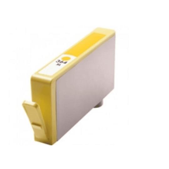 Tinteiro Compatível HP nº 364 XL Amarelo (CB325EE)