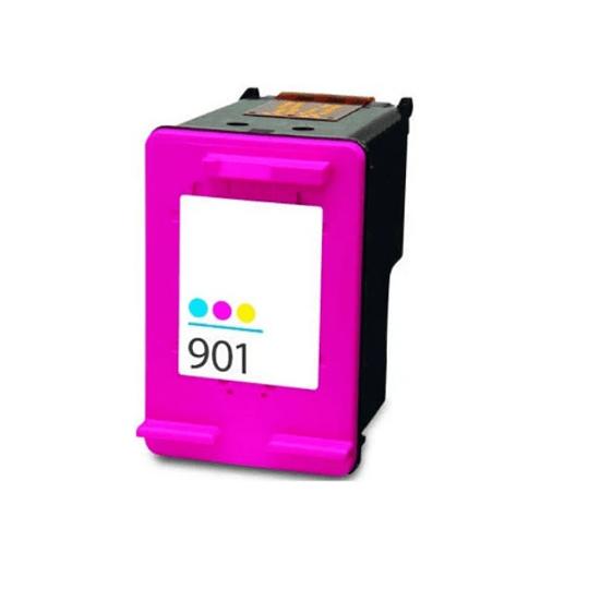 Tinteiro Compatível HP nº 901 XL Tricolor (cc656ee)