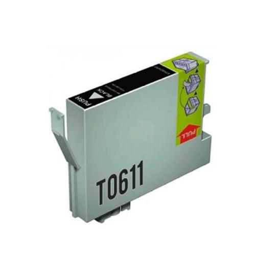 Tinteiro Compatível Epson Preto (T0611)