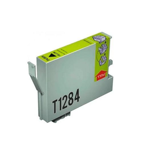 Tinteiro Compatível Epson Amarelo (T1284)