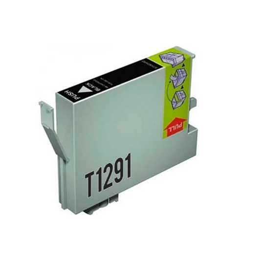 Tinteiro Compatível Epson Preto (T1291)