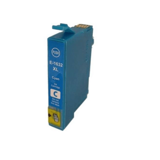 Tinteiro Compatível Epson 16 XL Azul (T1632)