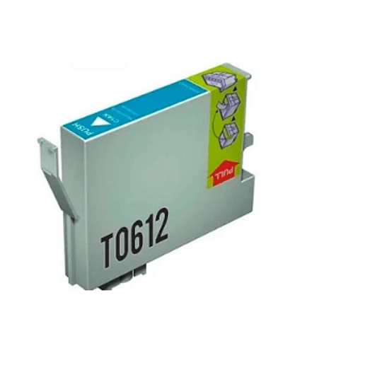Tinteiro Compatível Epson Azul (T0612)