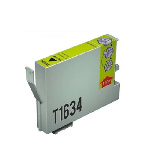Tinteiro Compatível Epson 16 XL Amarelo (T1634)