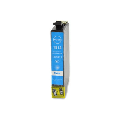 Tinteiro Compatível Epson Ciano Alta Cap. (T1812)