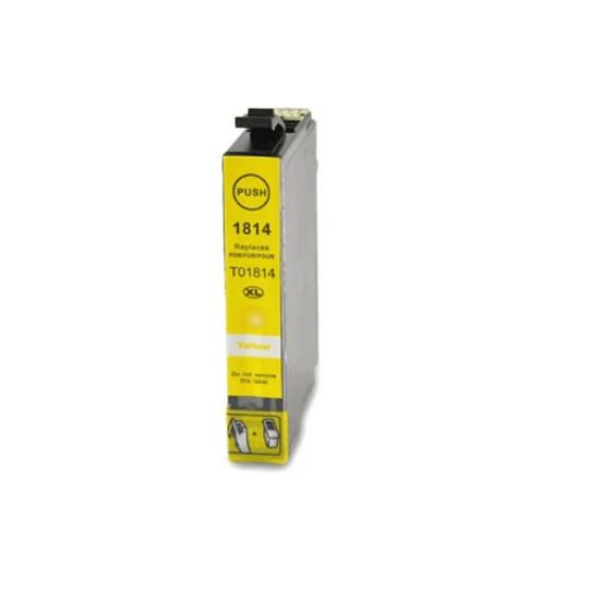 Tinteiro Compatível Epson Amarelo Alta Cap. (T1814)